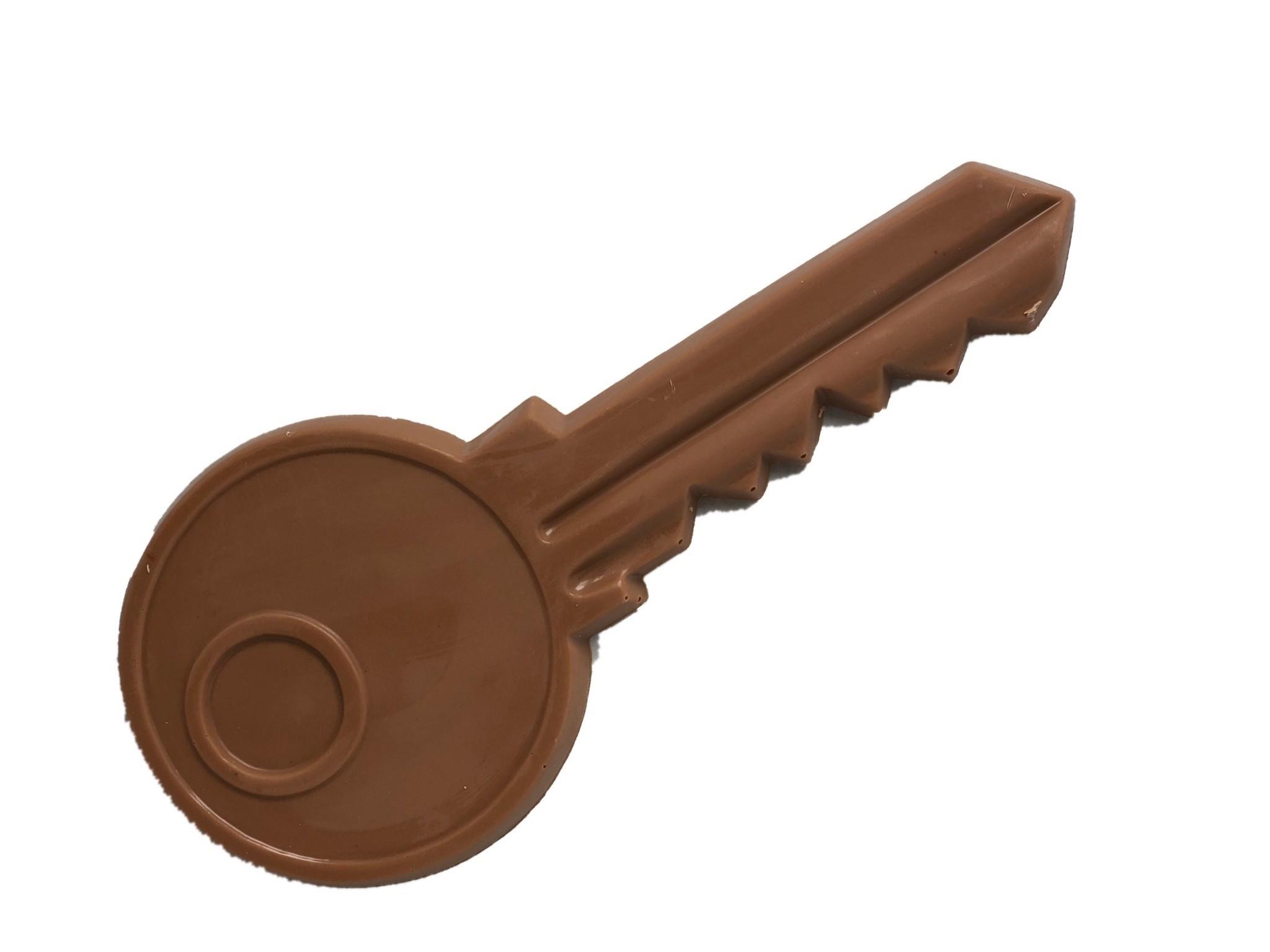 Chocolade sleutel voor een nieuwe woning