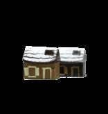 Hol chocolade huisje