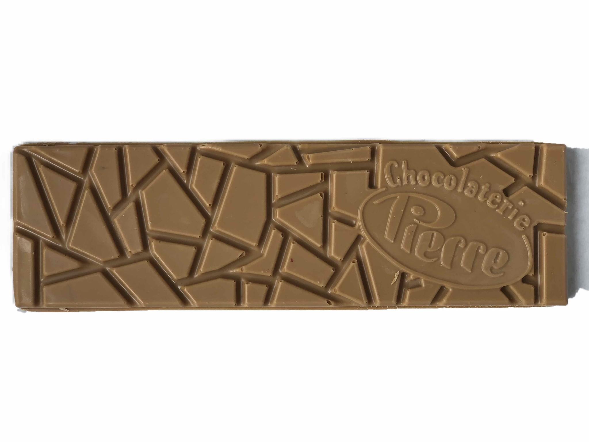Reep van gold chocolade