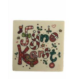 'Fijne Kerst' tablet