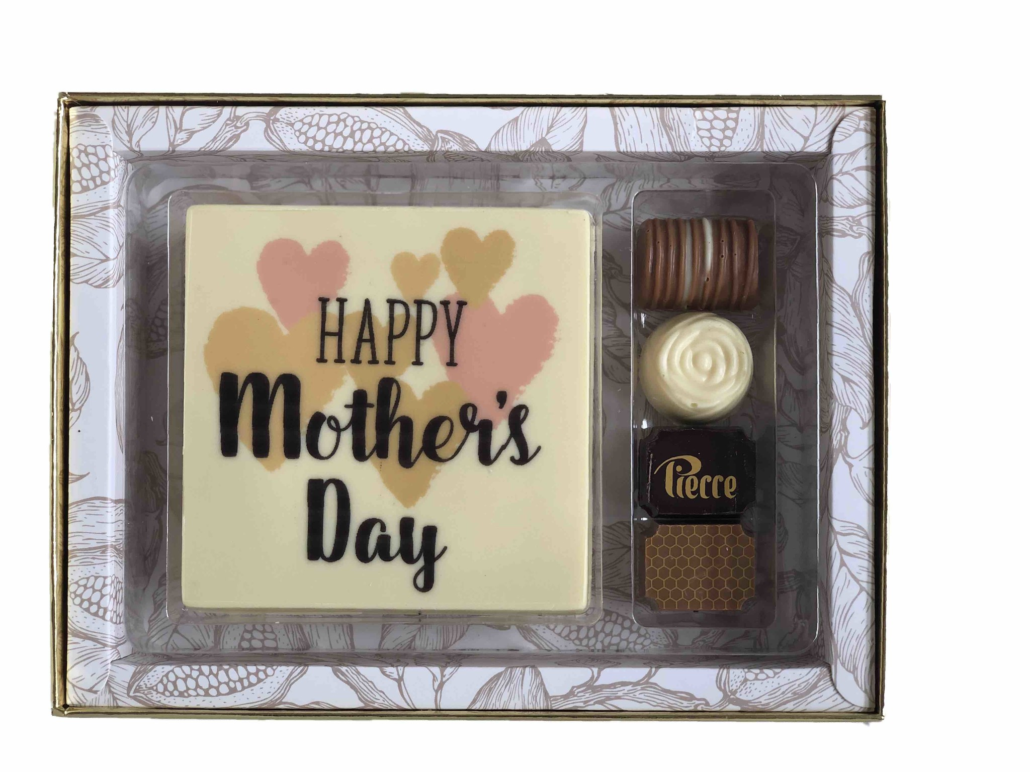 Luxe box Classic met tablet en bonbons voor Moederdag