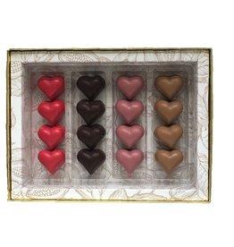 Luxe box bonbons 16st. Valentijn