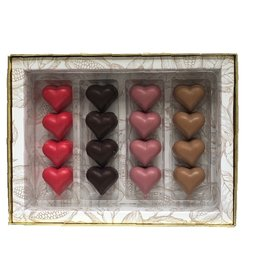 Luxe Valentijnbox 16 bonbons