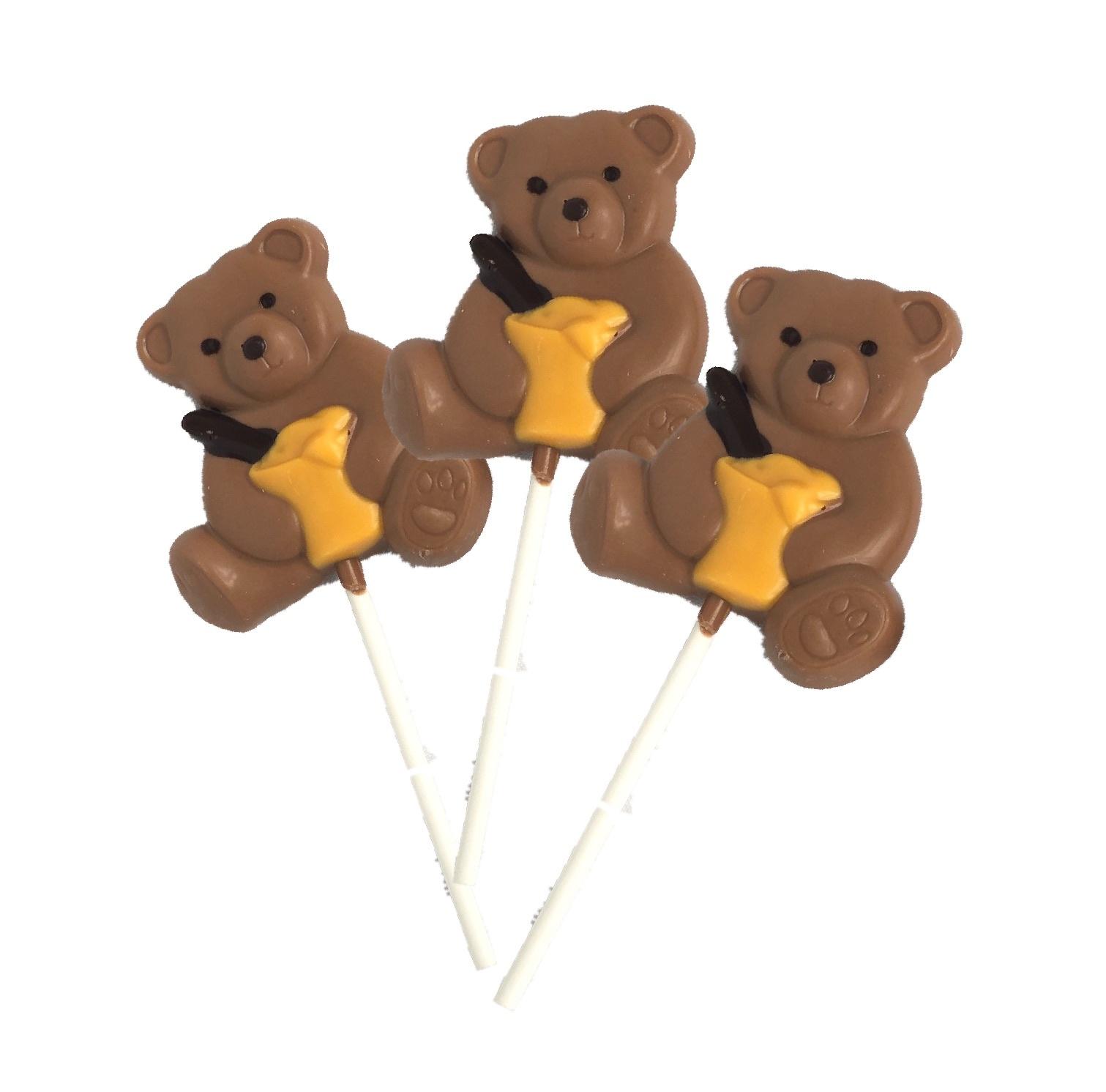 Beren chocoladelolly
