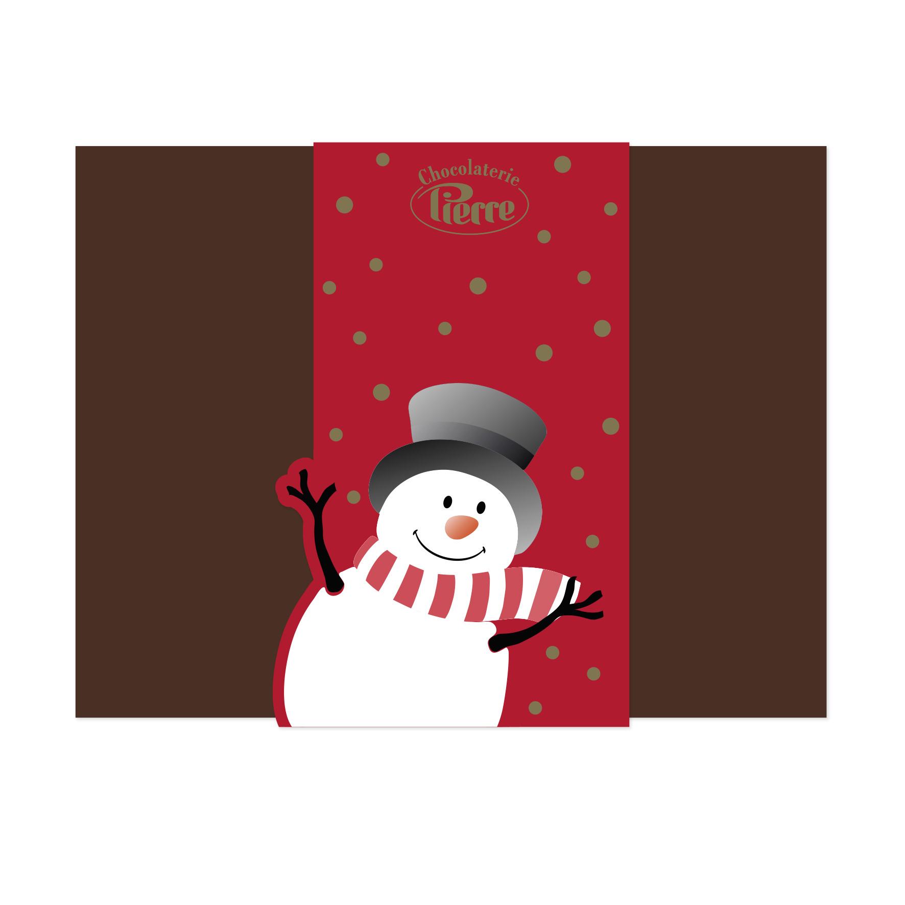 "Banderol Cadeau ""Christmas"""
