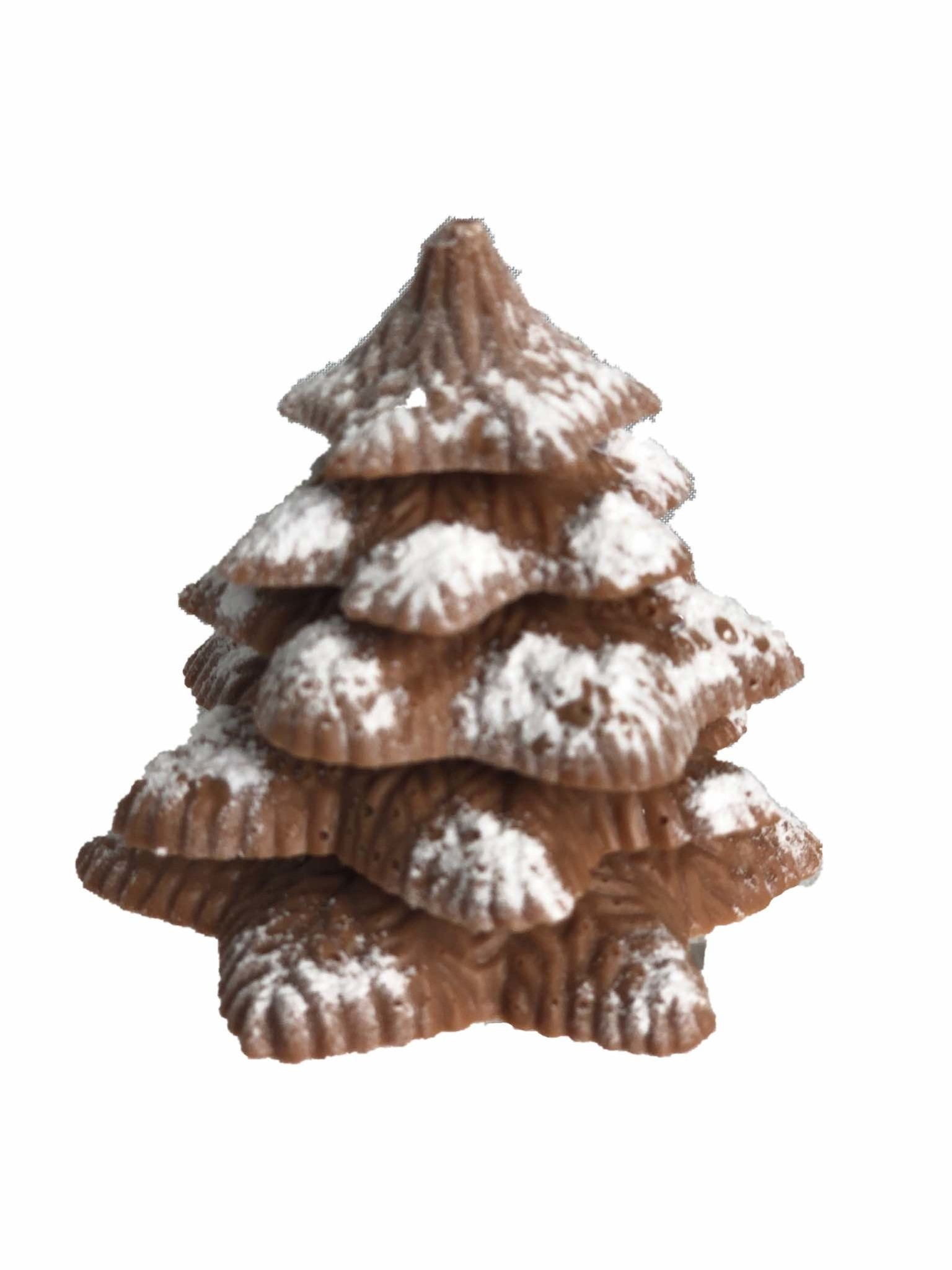 Kerstboompje gianduja