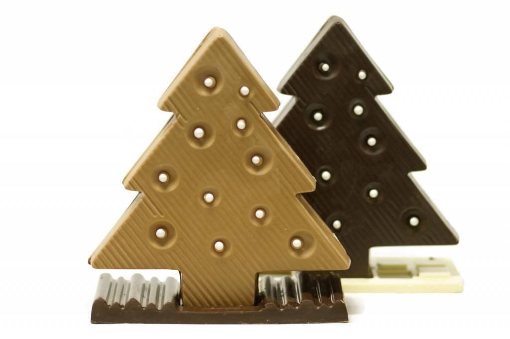Platte kerstboom
