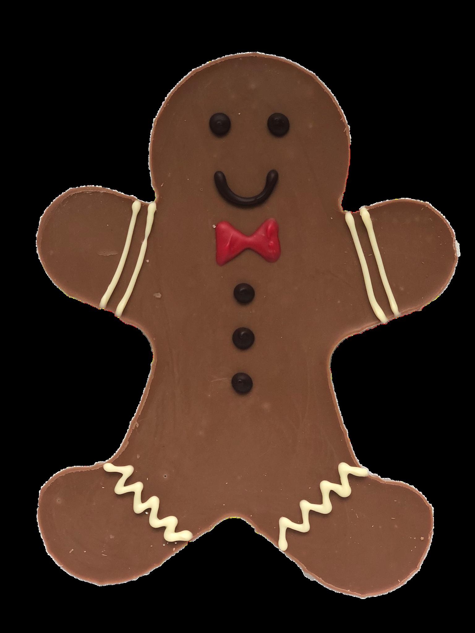 Chocolade gingerbread mannetje leuk voor jong en oud