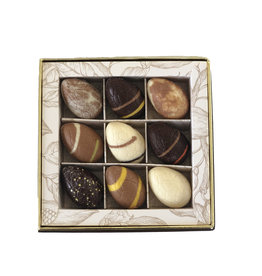 Luxe box 9 st. paasbonbons