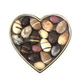 Luxe hartvormige box met ambachtelijke Paasbonbons