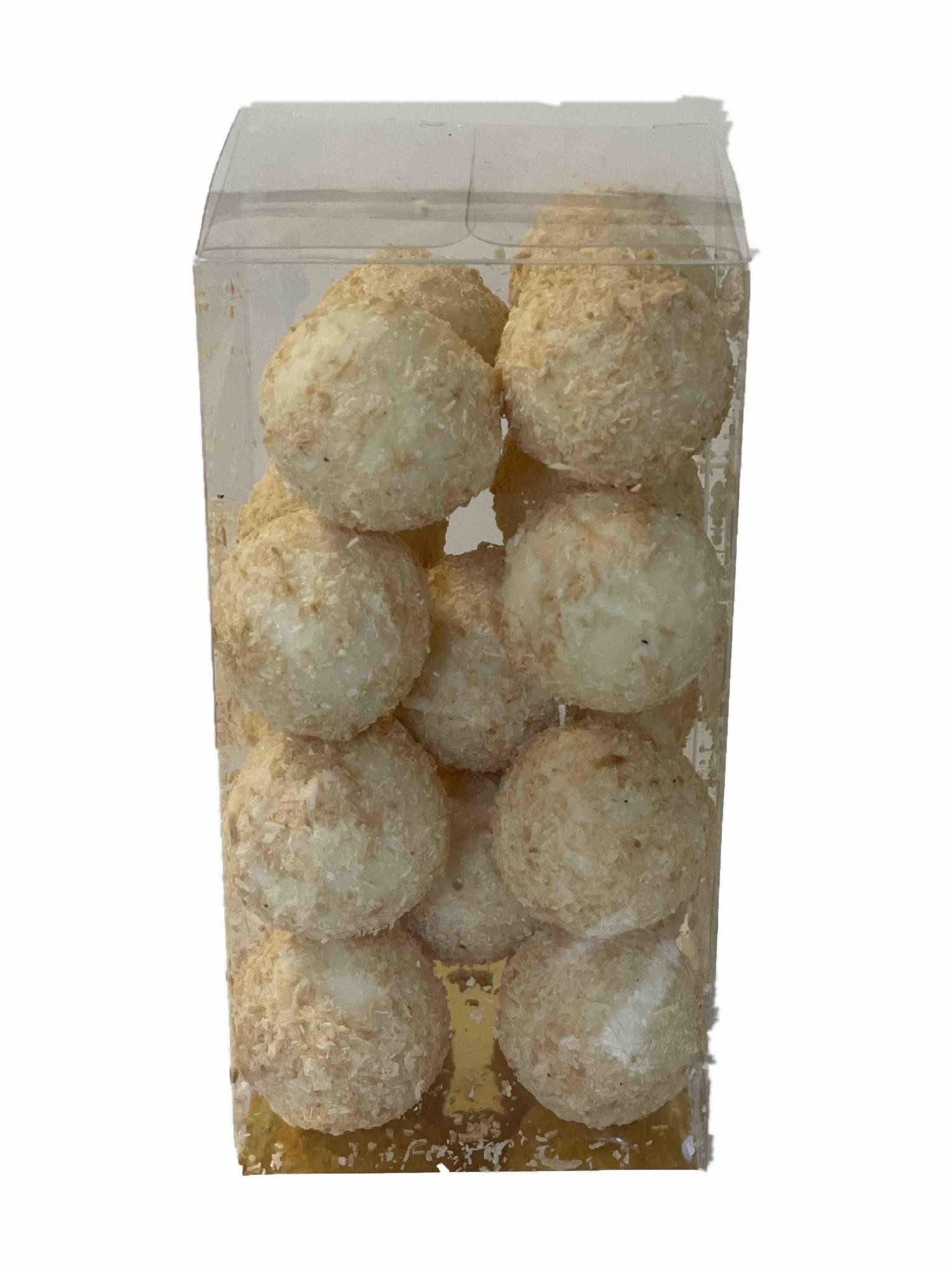 Gebrande kokostruffels