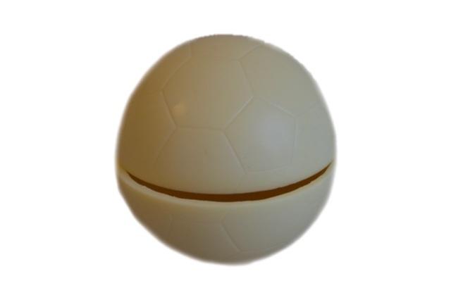 Bonbonniere voetbal (met 6 kleine bonbons)