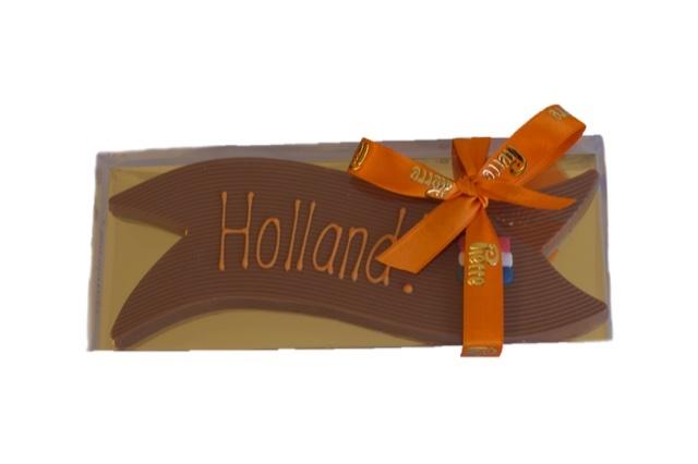 Vaandel Holland! van heerlijke chocolade