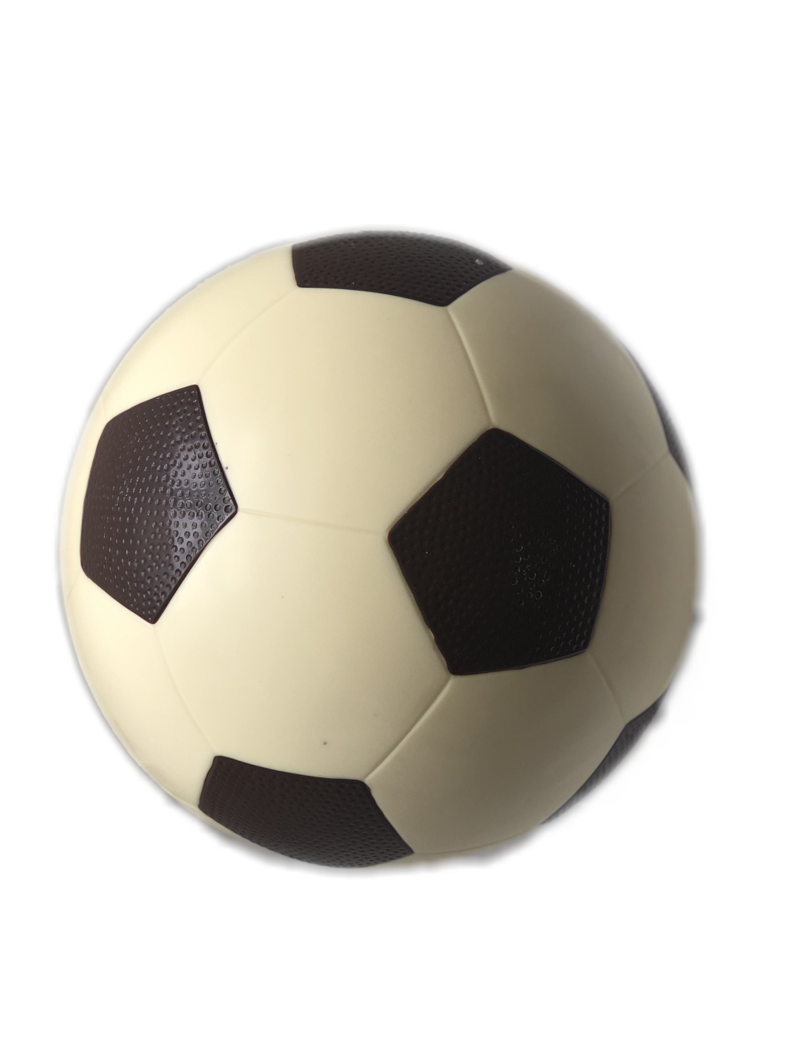 Grote chocolade voetbal
