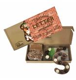 Maak zelf je eigen chocoladeletter met dit leuke Letter pretpakket