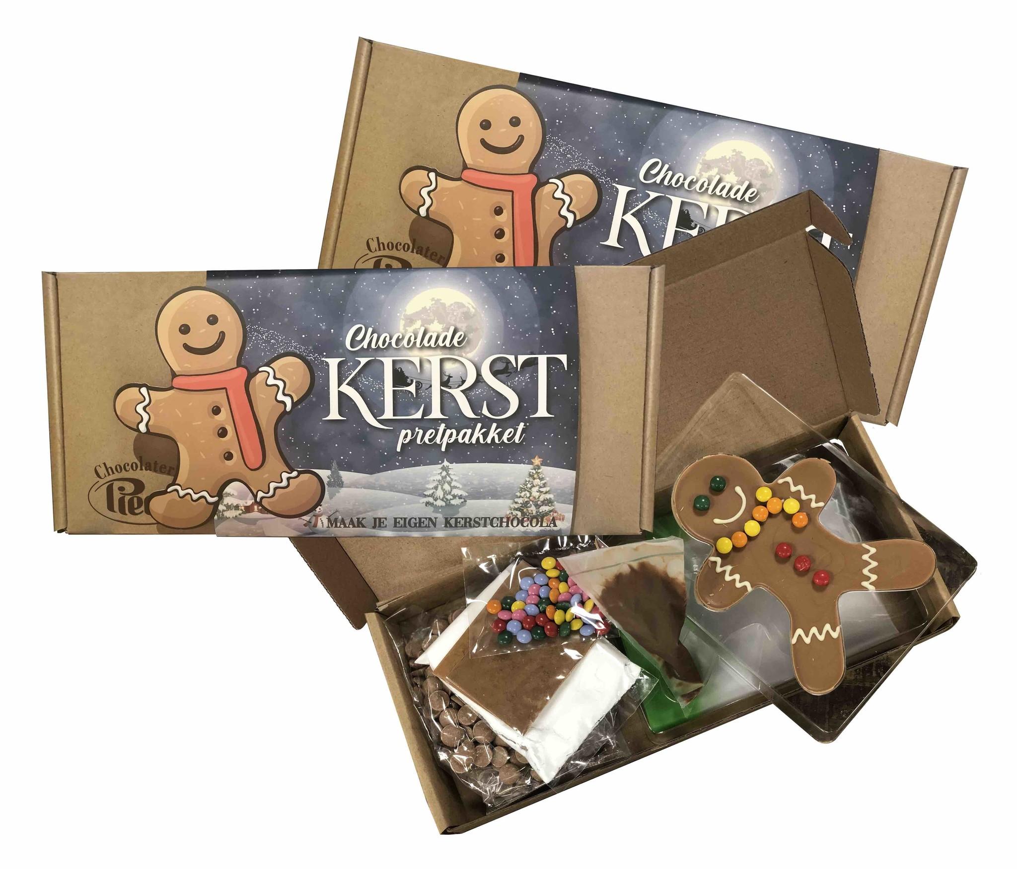 Maak zelf je eigen gingerbreandmannetje met dit leuke pakket