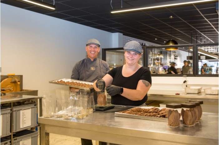 Samenwerking Paswerk & Chocolaterie Pierre