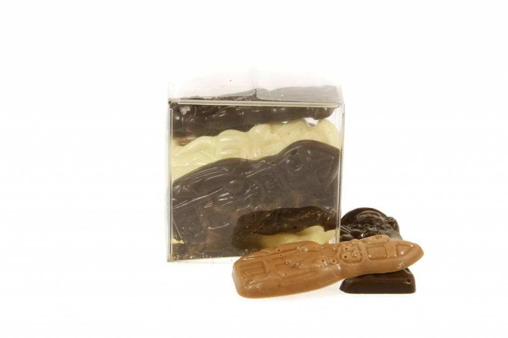 Sint en Piet chocolaatjes om lekker van te smullen