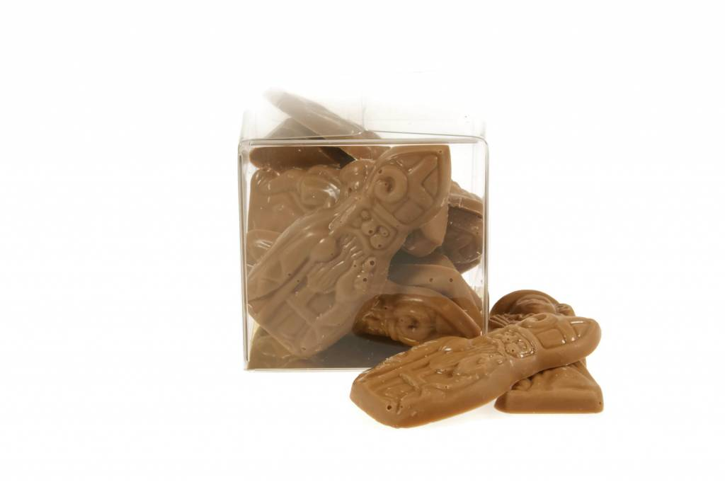 Doosje Sint en Piet chocolaatjes