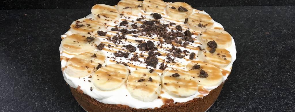 Banoffee taart