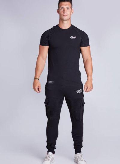 Hoistwear Premio Ribbed Jogger Black