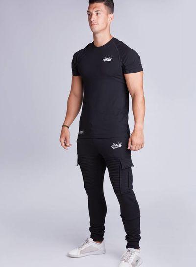 Hoistwear Premio Ribbed Jogger Black restocked