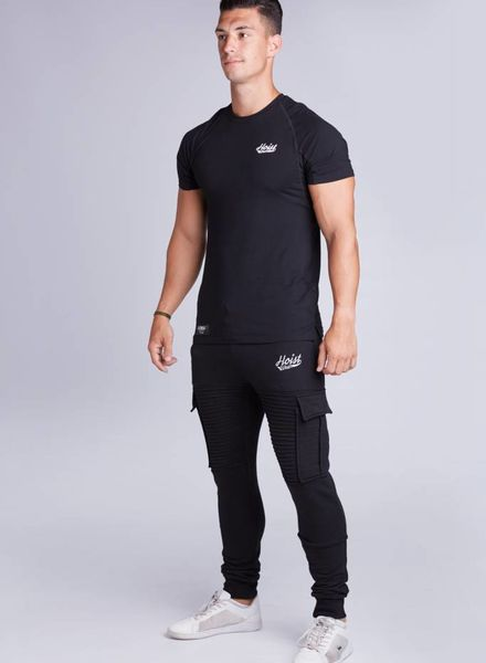 Hoistwear Premio Ribbed Jogger Black  restocked