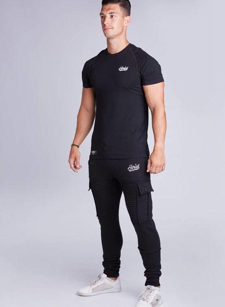 Hoistwear Premio Ribbed Jogger Black  size S & L