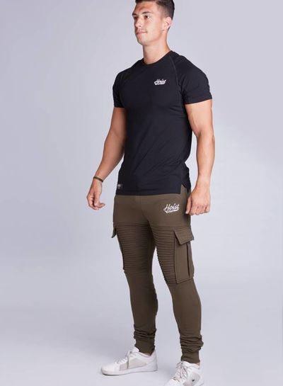 Hoistwear Premio Ribbed Jogger Black - Copy - Copy