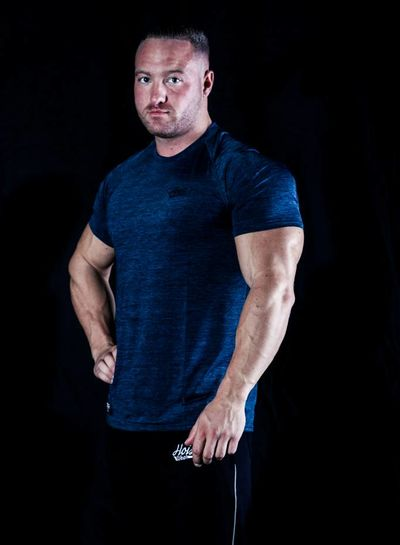 Hoistwear Hoist Flex Blue Tshirt