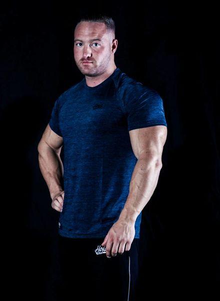 Hoistwear Hoist Flex Blue Tshirt size S