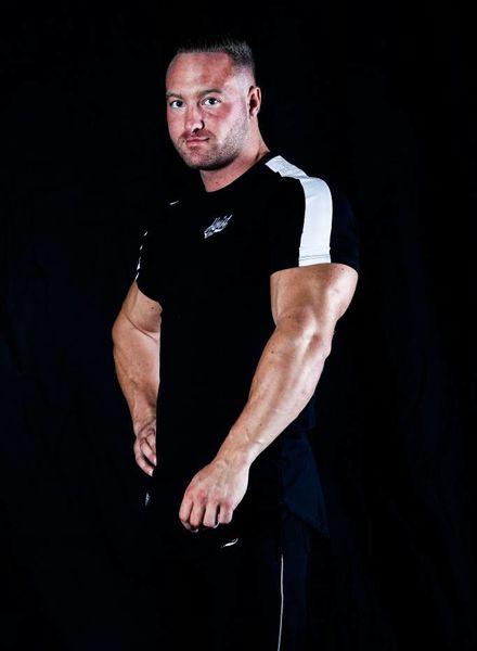 Hoistwear Hoist Curved Black/White Tshirt size S