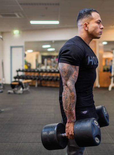 Hoistwear Team Hoist Curved Tshirt - Copy