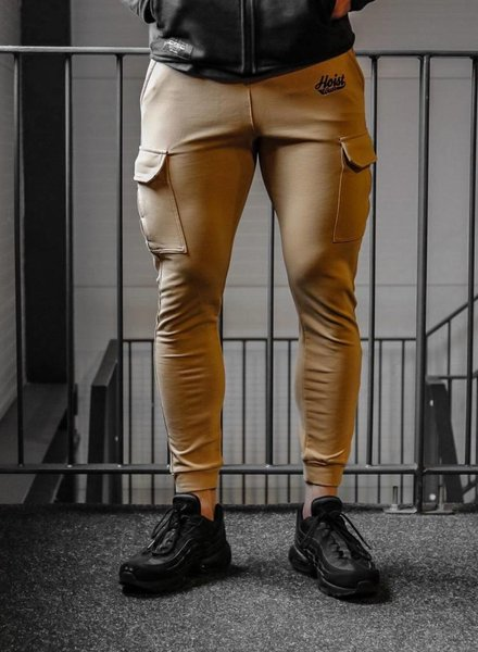 Hoistwear Fitted Cargo Bottoms Beige