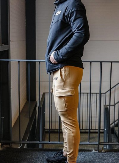 Hoistwear  Fitted Cargo Bottoms Beige