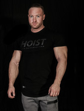 Hoistwear Team Hoist Curved Black on Black
