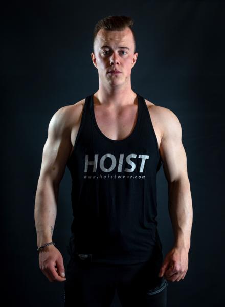 Hoistwear Elite-Stretch Black / Gray Hoist Singlet