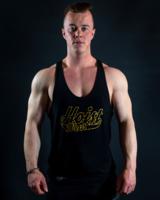 Hoistwear Elite-Stretch Black/Gold Hoist Singlet