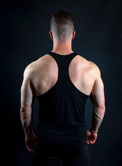 Hoistwear Elite-Stretch Black / Gray Hoist Singlet - Copy
