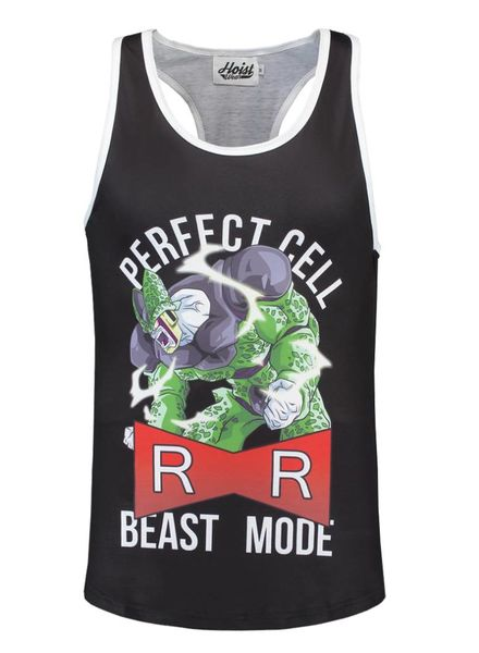 DBZ Perfect Cell Beast Mode Tanktop size S