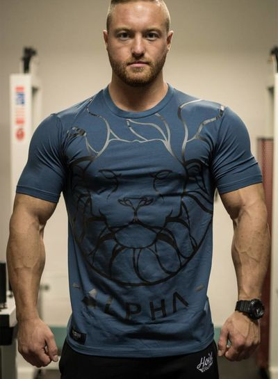 Hoistwear Alpha V2 Navy Fitted T-Shirt