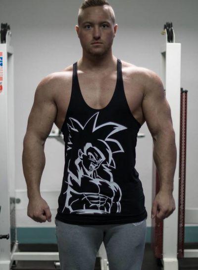 Goku SSj4 Black Singlet XS