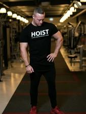 Hoistwear Team Hoist Curved Black Tshirt restocked