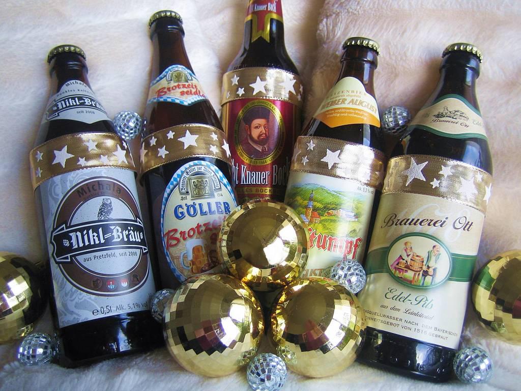 Weihnachtsschoppen gefällig?  Biergeschenke für Feinschmecker