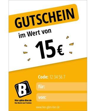 Express voucher 15 EUR