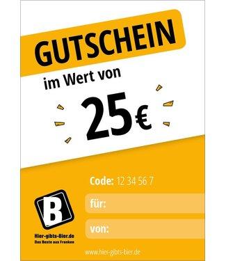 Express voucher 25 EUR