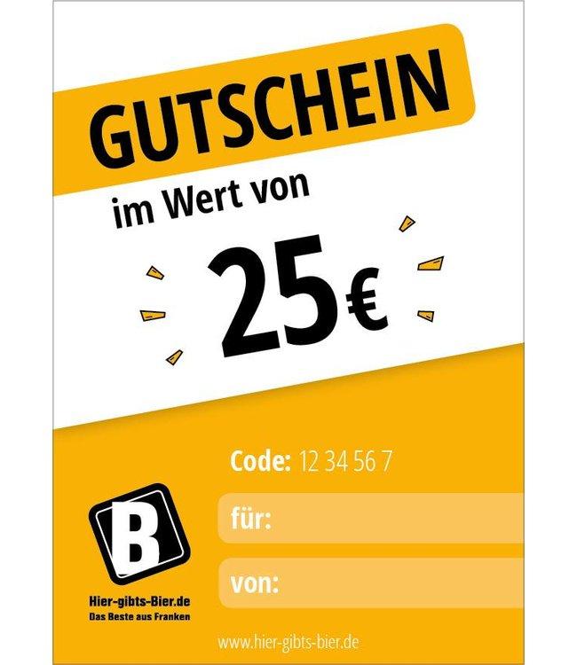 Express Gutschein 25 EUR