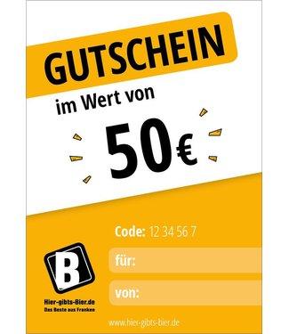 Express voucher 50 EUR