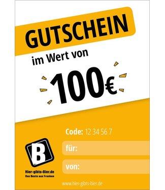Express voucher 100 EUR