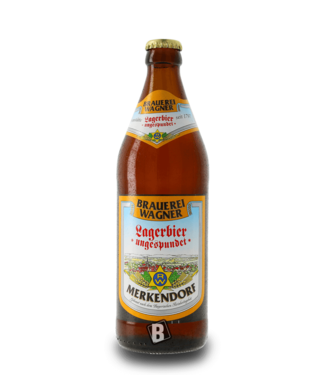 Brauerei Wagner Wagner Lagerbier ungespundet